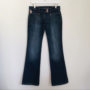 Parasuko Wide leg Denim Jeans